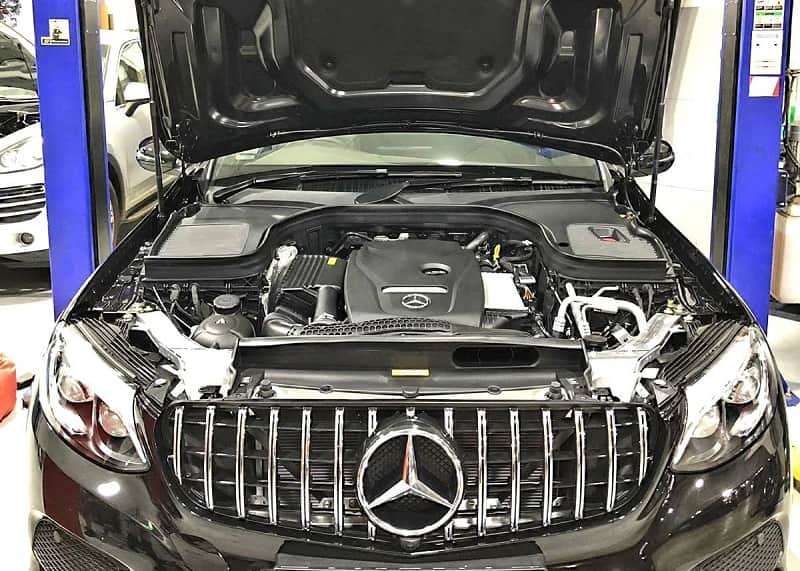 Garage sửa chữa xe Mercedes tại TPHCM uy tín và chuyên sâu