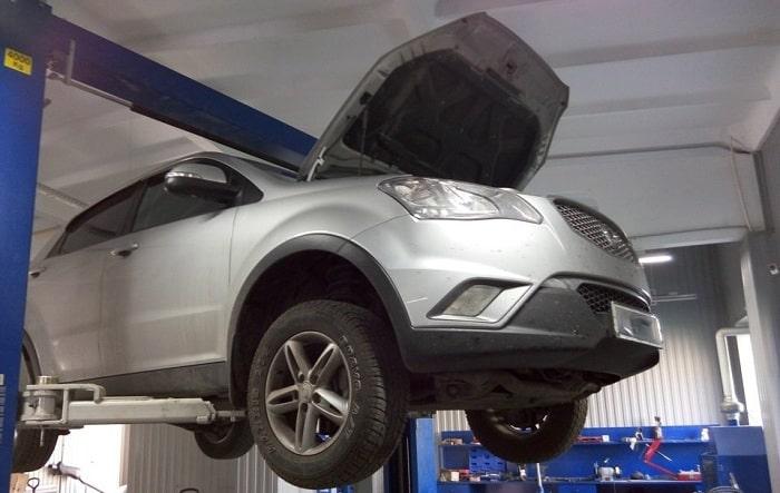 Garage chuyên sửa chữa ô tô Ssangyong tại TP.HCM uy tín và giá tốt