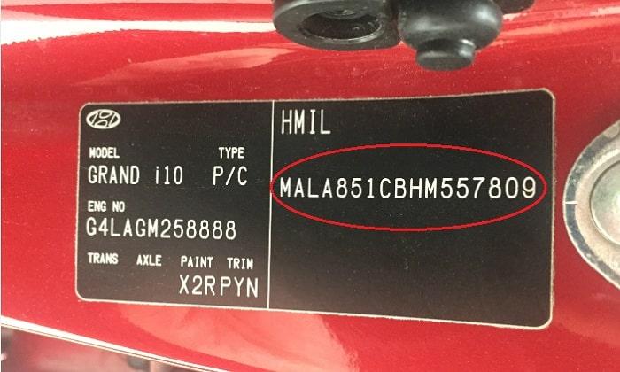 Số VIN ô tô: Ý nghĩa và hướng dẫn cách số khung xe ô tô chi tiết