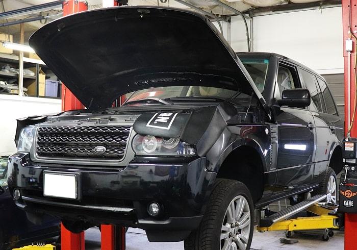 Gara chuyên sửa xe Land Rover tại TPHCM giá tốt, bảo hành 1 năm