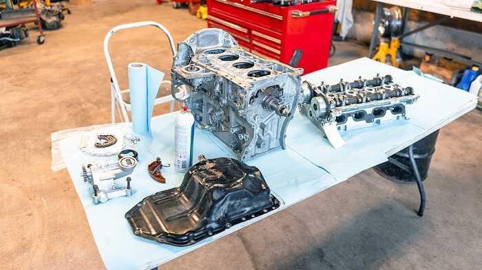 Một số hạng mục cơ bản khi đại tu động cơ ô tô