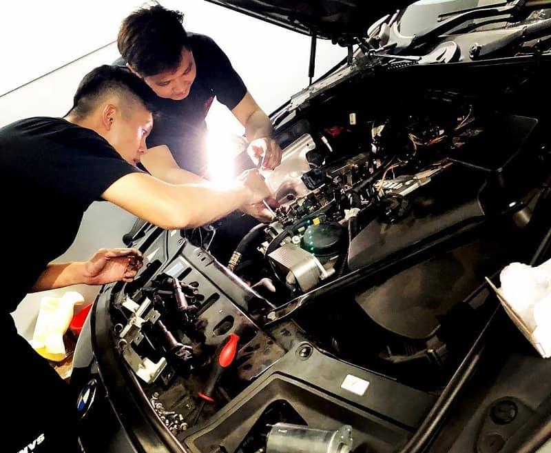 Chất lượng chuyên môn khi sửa chữa xe BMW của KTV