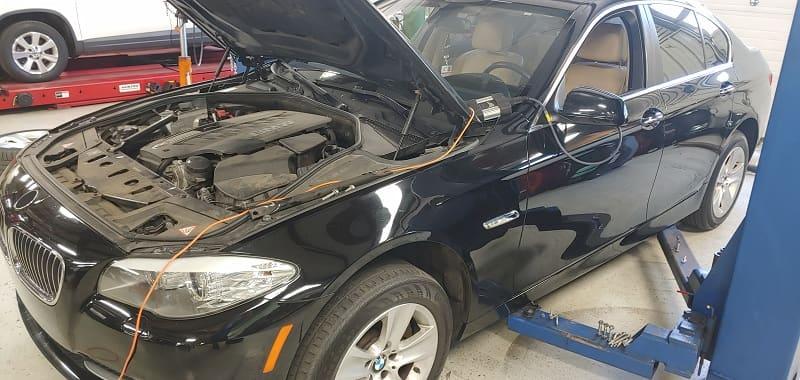 gara sửa chữa xe BMW chuyên nghiệp