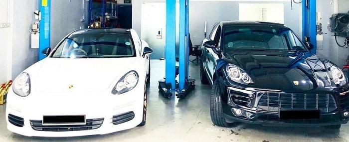 Garage sửa ô tô Porsche Uy tín và Chuyên nghiệp