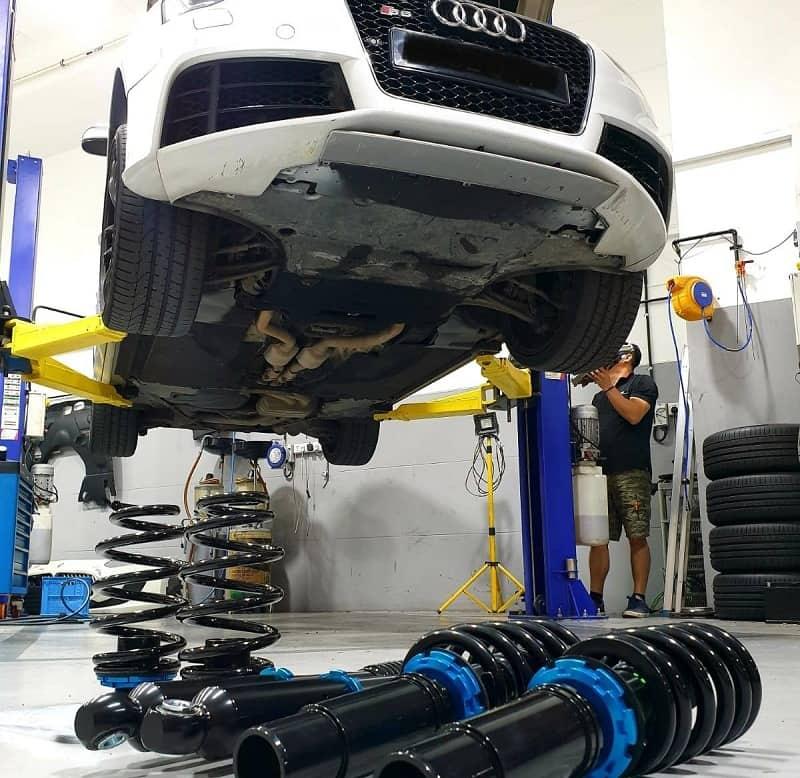 Phụ tùng thay thế khi sửa chữa gầm xe ô tô tốt nhất