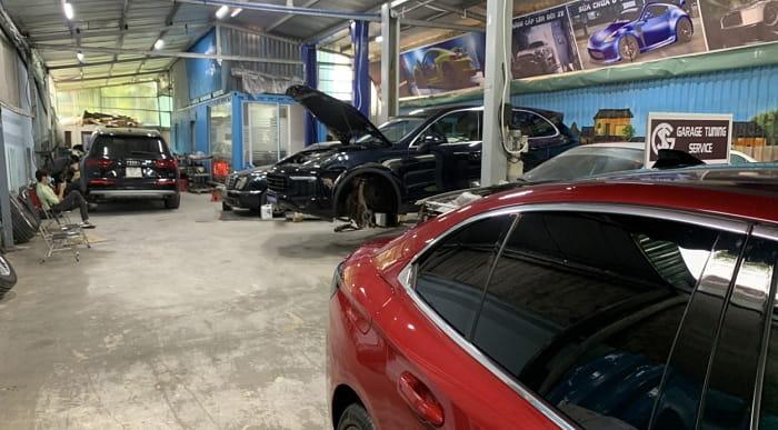 các gói dịch vụ sửa chữa ô tô