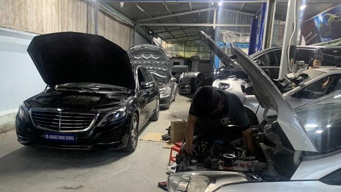 Sửa chữa xe ô tô cao cấp ở quận 7