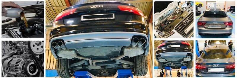 Giá cả sửa chữa xe Audi phải chăng