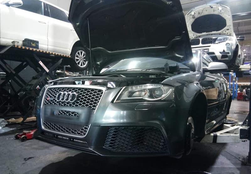 Garage sửa chữa xe Audi uy tín tại TP.HCM