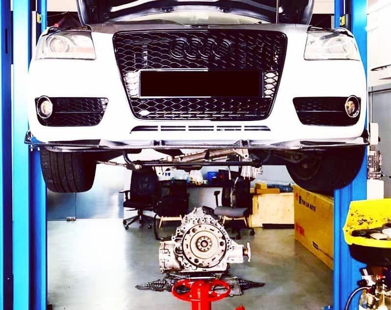 Các gói sửa chữa Audi tại Garage Tuning Service