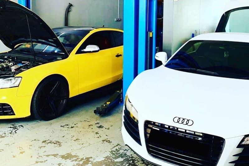 Luôn sửa chữa xe Audi trên một quy trình chuyên nghiệp